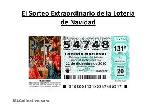 Diaporama De Presentación De La Navidad En España Powerpoints Ele Navidad En España Lotería Navidad Navidad