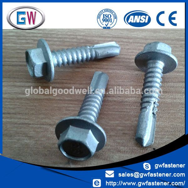 Factory Price Cl4 Galvanised Self Drilling Roofing Screws For Metal Roofing Screws Screws Galvanized