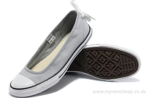 414869342f89fa Economic Popular Summer Converse All Star Light Grey Ballet Flat Dainty  Ballerina Low Canvas Shoes Converse Shoes Sale rrSqLZTs Greate Discount