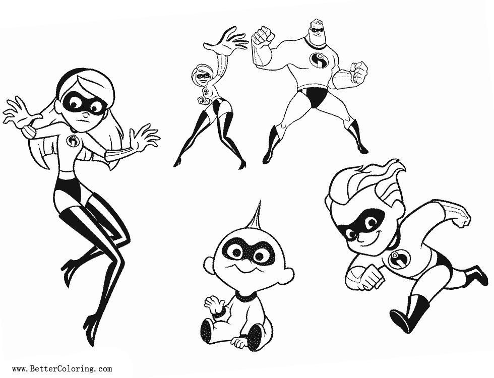 38 Incredibles 2 Coloring Pages Frozone Cartoon Coloring Pages Coloring Pages Free Printable Coloring