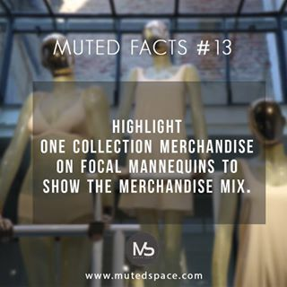 Muted fact #13 Highlight one collection on focal mannequins to show the merchandise mix  Stats of the stores should be well dressed, always !  Learn about in our new blog, click on the website link and now more!  #visualmerchandisingdisplay#visualmerchandising#merchandising#retail#retailspace#mannequins#mannequinstyling#style#styling#merchandisedisplay#indiaretail#retailproblems#retailsolutions#mutedfact#staycurious#stayinspired