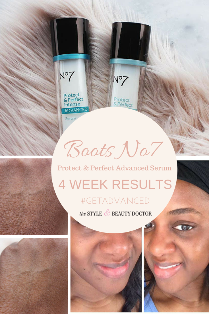 My Boots No7 Protect Perfect Advanced Serum 4 Week Results