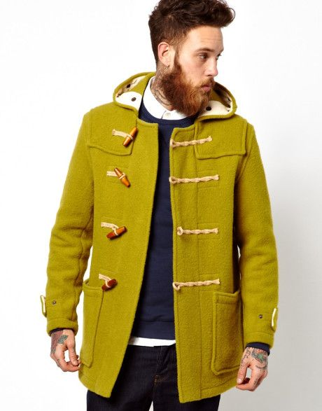 Men's Green Duffle Coat | Coats, Duffle coat and Clothing