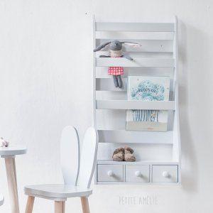 Etagère enfant Gris | Petite Amélie