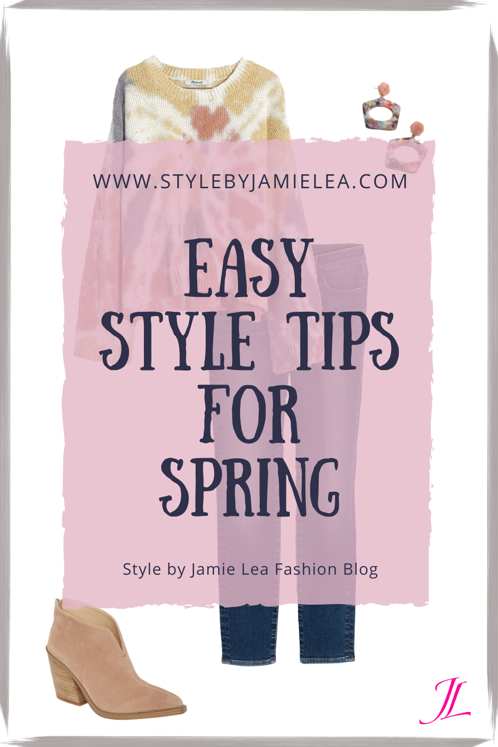 Easy Style Tips for Spring - Spring Fashion Style Tips for Women