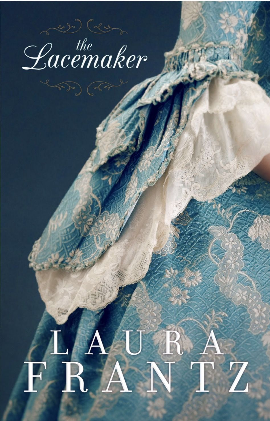 The Lacemaker Cover Reveal!  Laura Frantz