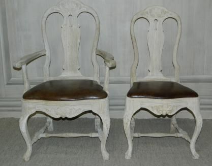 Mrs. Howard Personal Shopper  -paint our chairs like this and the chest