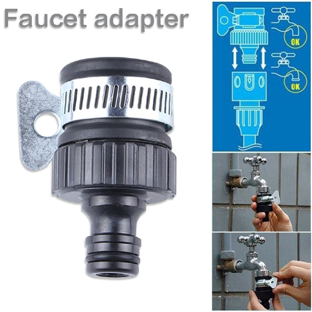 Durable Universal Water Faucet Adapter Plastic Hose