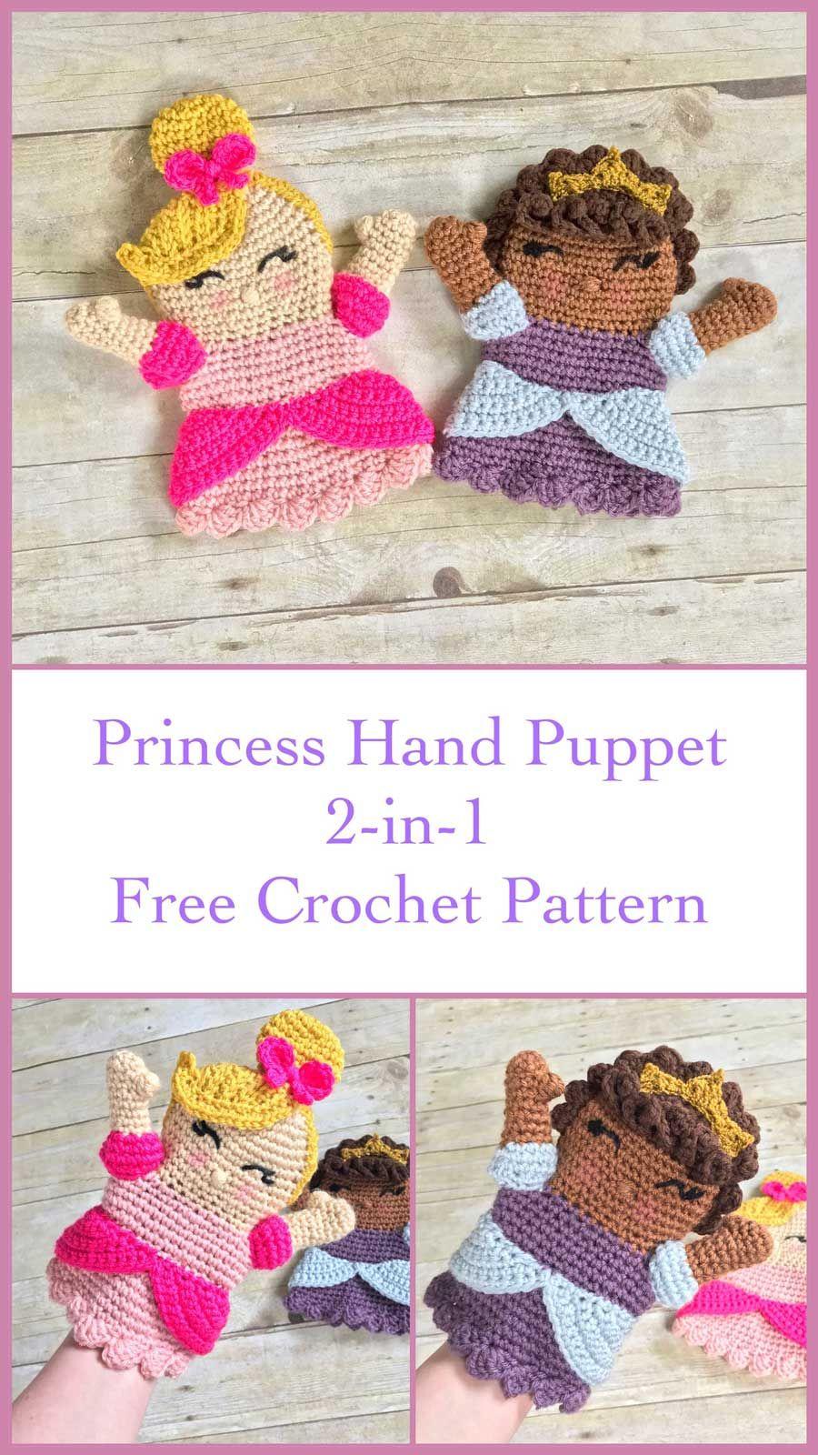 THNLife - Princess Hand Puppet Crochet Pattern | Erin Greene ...