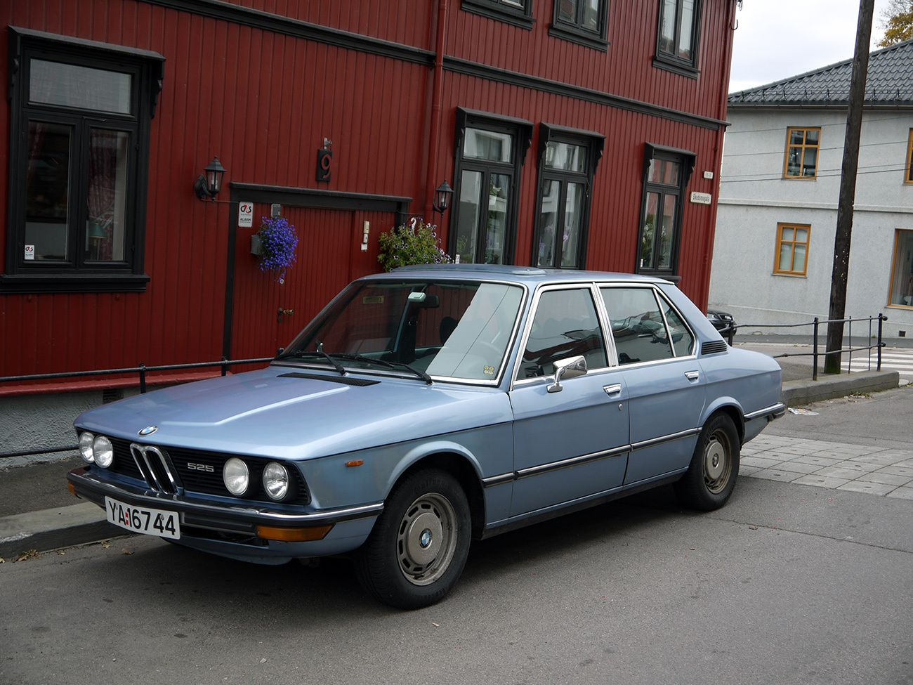 1976 bmw 525 old norway
