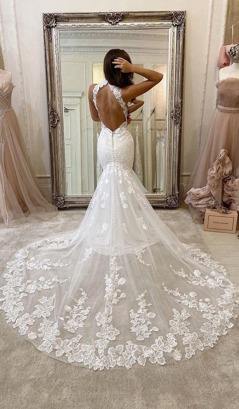 Gold Lace Trumpet Mermaid Fishtail Wedding Dress Google Search Wedding Dresses Lace Mermaid Wedding Dress Mermaid Wedding Dress [ 1200 x 750 Pixel ]