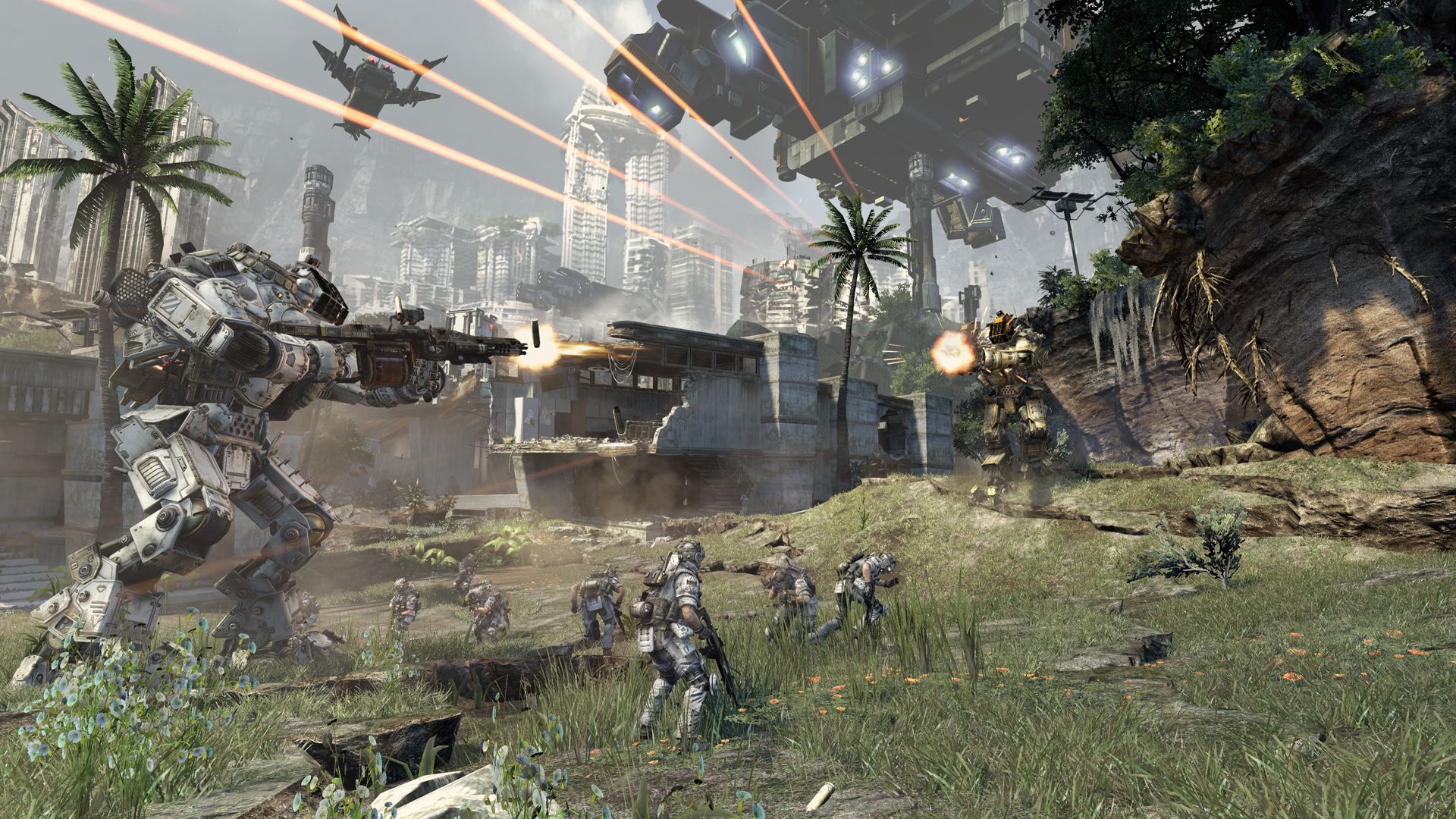 Titanfall Behind The Scene Video Discusses Two Types Of Gameplay