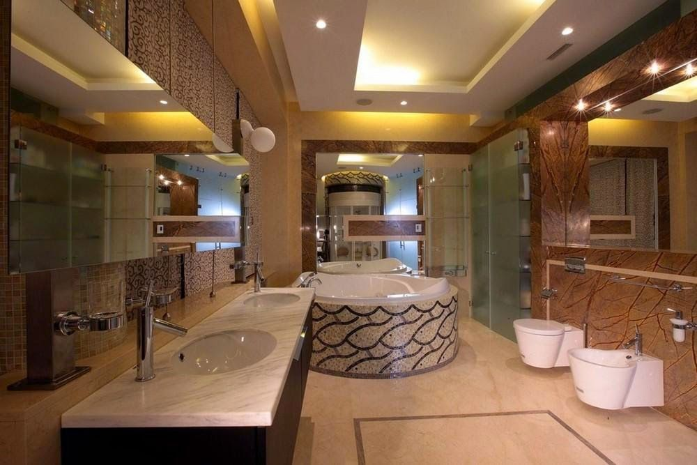 10 photos for a false ceiling for bathroom to be the most luxurious and  newest Types bathroom ceiling designs and false ceiling ideas for bathroom  ceilings. Latest tips for false ceiling designs with LED lights for bathroom