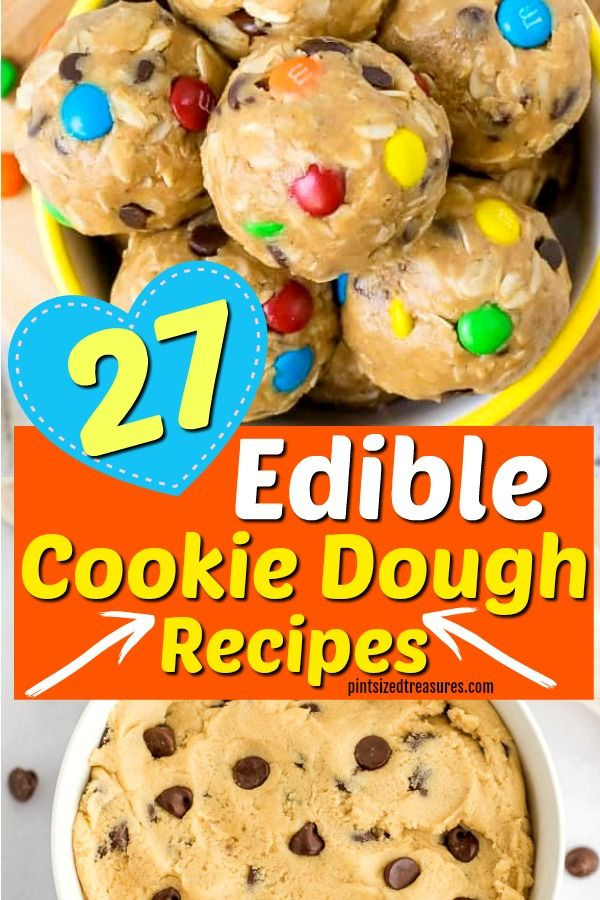 27 Edible Cookie Dough Recipes