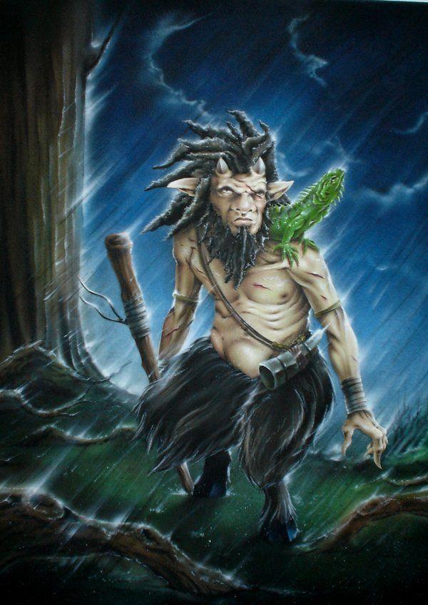 Caribbean Papa Folklore: 2/2/2013 Papa Bois (otherwise known as