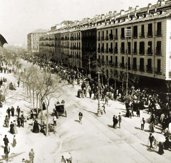calle de la Princesa. 1900