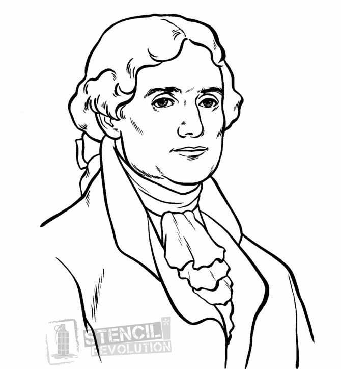 Thomas Jefferson Stencils | Pinterest