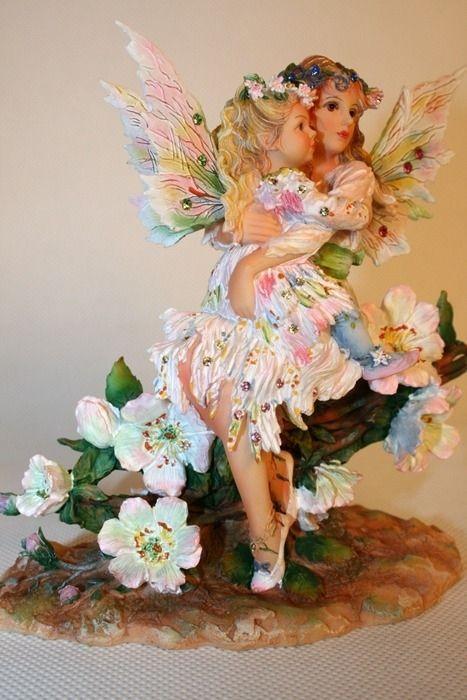Porcelain Fairy (The author Christina Haworth)