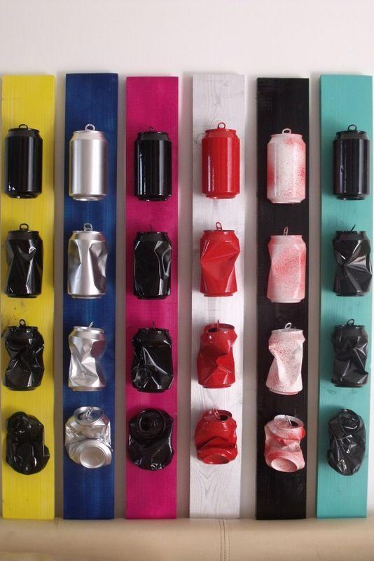 recyclage decoratif canettes id es pinterest bocaux pop recyclage et les voies ferr es. Black Bedroom Furniture Sets. Home Design Ideas