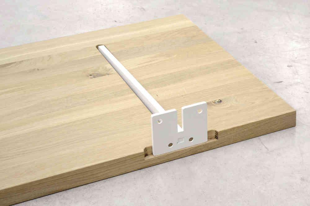 Plank Met Onzichtbare Bevestiging.Wandbeugel Plano Blind Opbouw Houten Plank In 2019 Houten