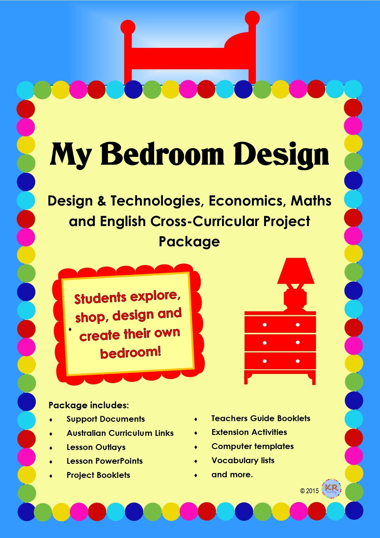 Bedroom Design Project Unit of Work - Cross-Curricular Maths ...