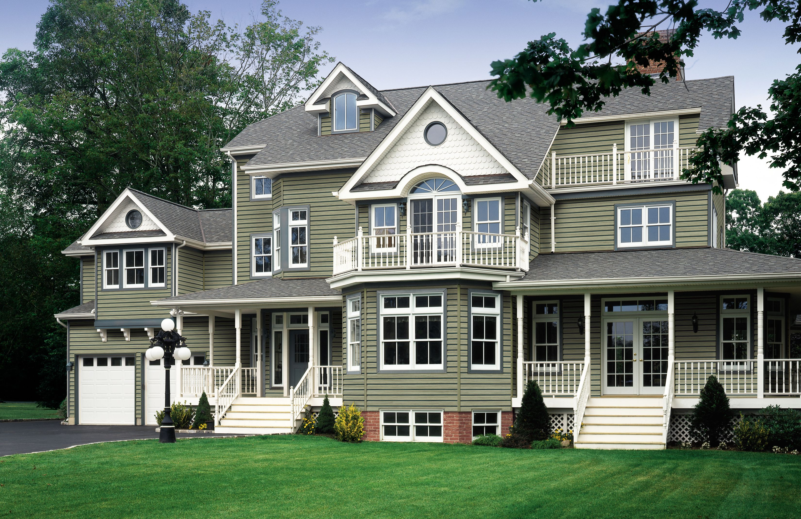 Certainteed Siding Monogram Arbor Blend Siding