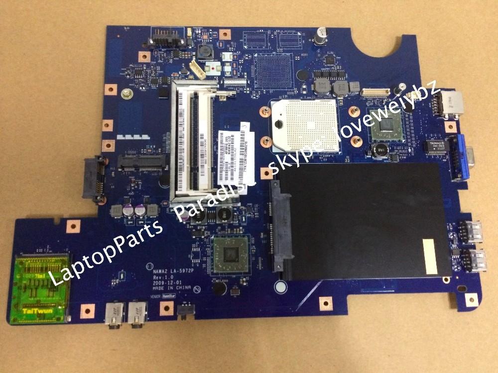 36.74$  Watch more here  - Original NAWA2 LA-5972P REV:1.0 Motherboard For Lenovo G555 mainboard