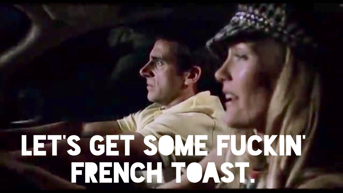 Casually french fucking some toast happens