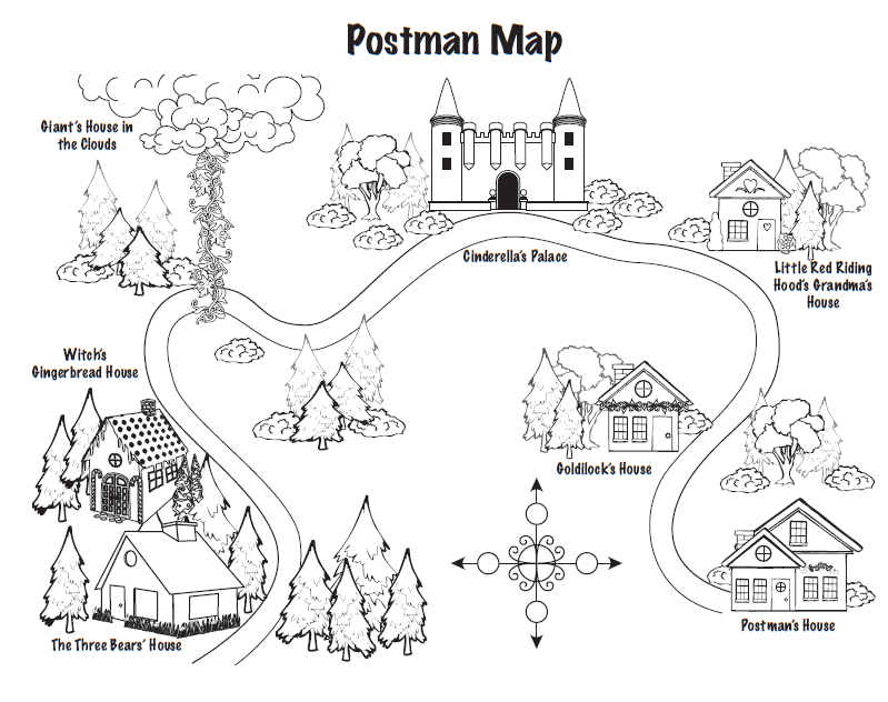 mailman finds a map on an island