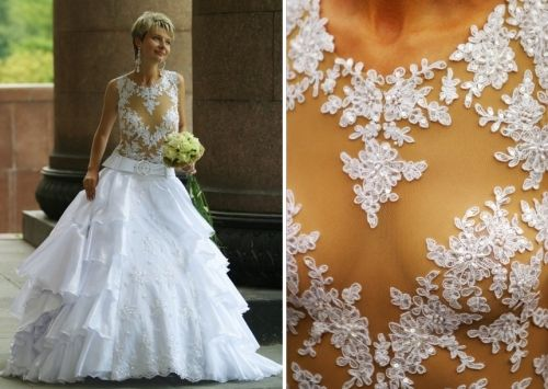 skimpy wedding dresses | Wedding Columbia | Pinterest | Sheer ...