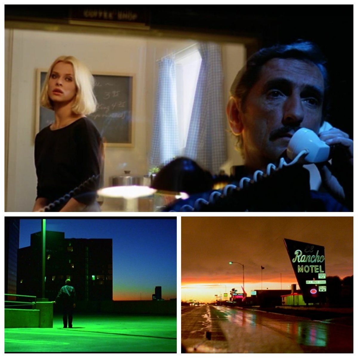 The Contrasting Colors Of Wim Wenders Paris Texas Shot By Robby Muller Film Inspiration Short Film Cinematic Photography