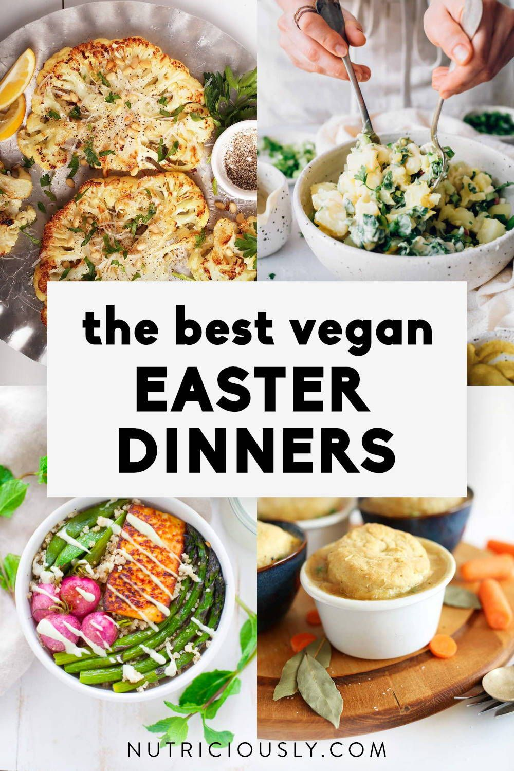 Nutriciously Healthy Plant Based Eating In 2020 Vegan Easter Dinner Vegan Easter Easter Dinner Menus