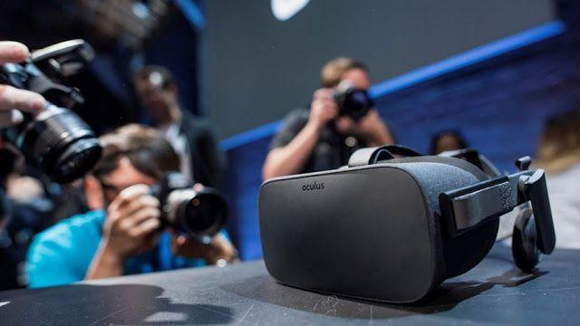 Óculos de realidade virtual do Facebook chegam ao mercado.   Canal do Kleber