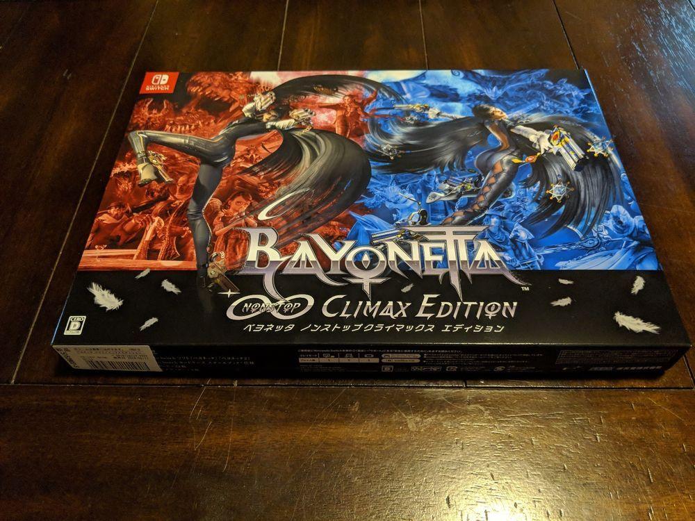 Bayonetta Non Stop Climax Edition - Nintendo Switch - Japan