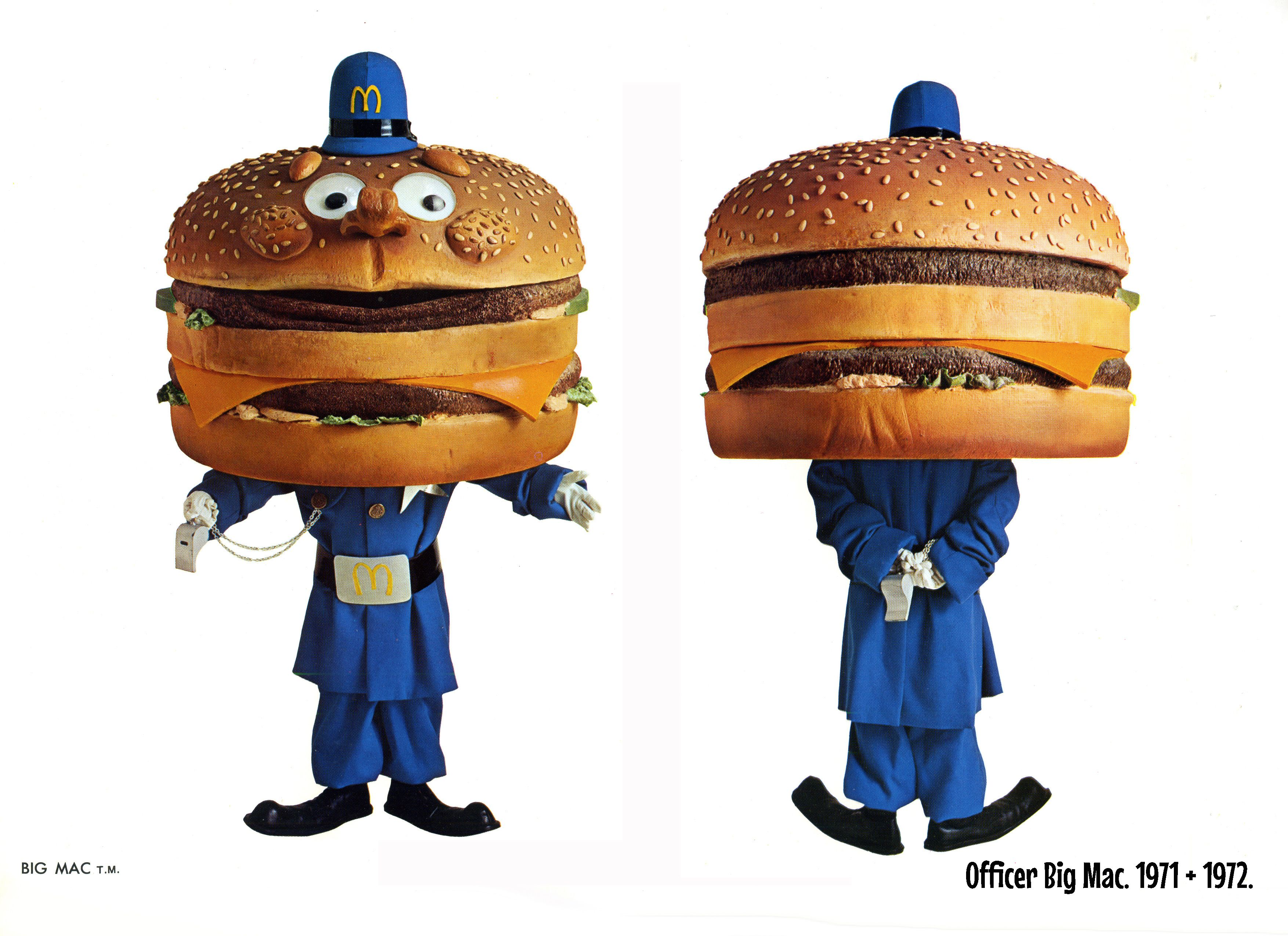 Officer Big Mac First Appeared On National Tv In January Of 1971 He Was Played By Little Person Jerry Mare Ronald Mcdonald Costume Ted Cassidy Ronald Mcdonald