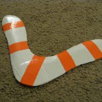 Duct Tape Boomerang