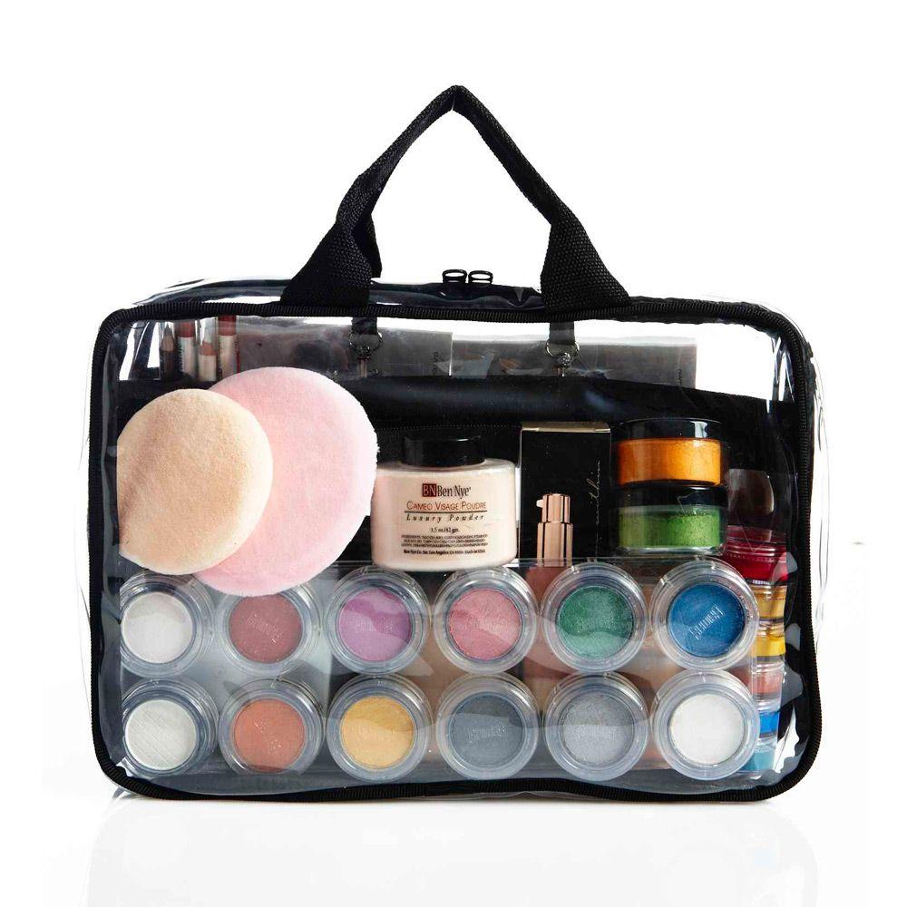 KatKit Road — Kat Kit Road Clear makeup bags, Makeup kit