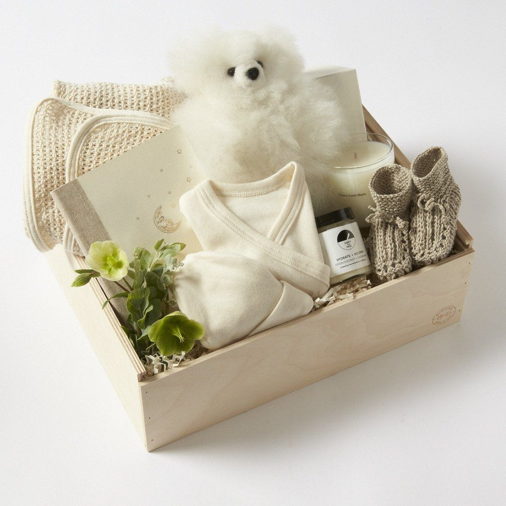 New Baby Shower Gift Basket | Simone Le Blanc Los Angeles – Simone ...