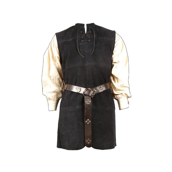 Men Medieval Tunic ❤ liked on Polyvore featuring men's fashion and medieval