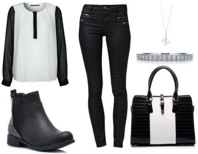 To the office. Click on the picture to check the composition of the styling. #fashion #outfit #boots #designs