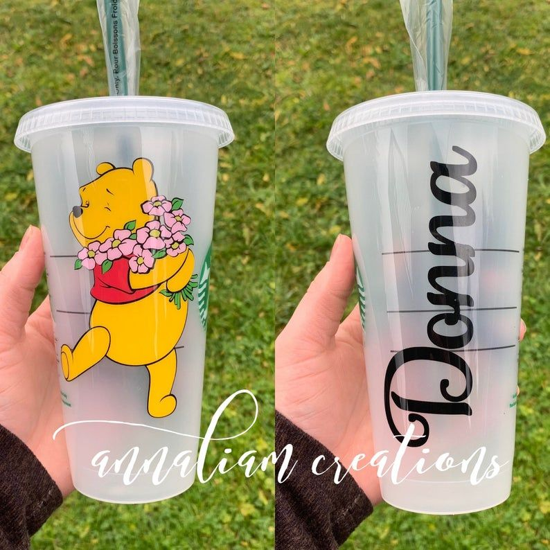 Personalized Starbucks Cold Cup Disney Movie UP