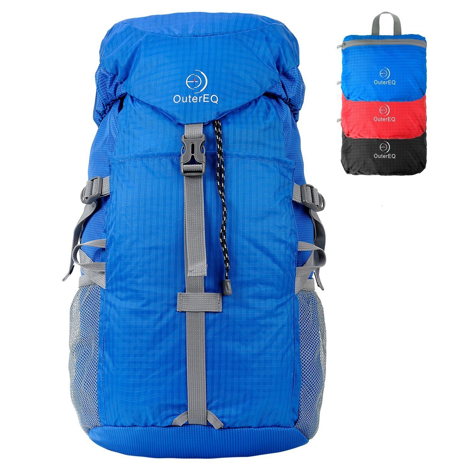 0f3341b3b5 OuterEQ 30L Outdoor Travel Backpack Hiking Foldable Daypack -- Want to know  more