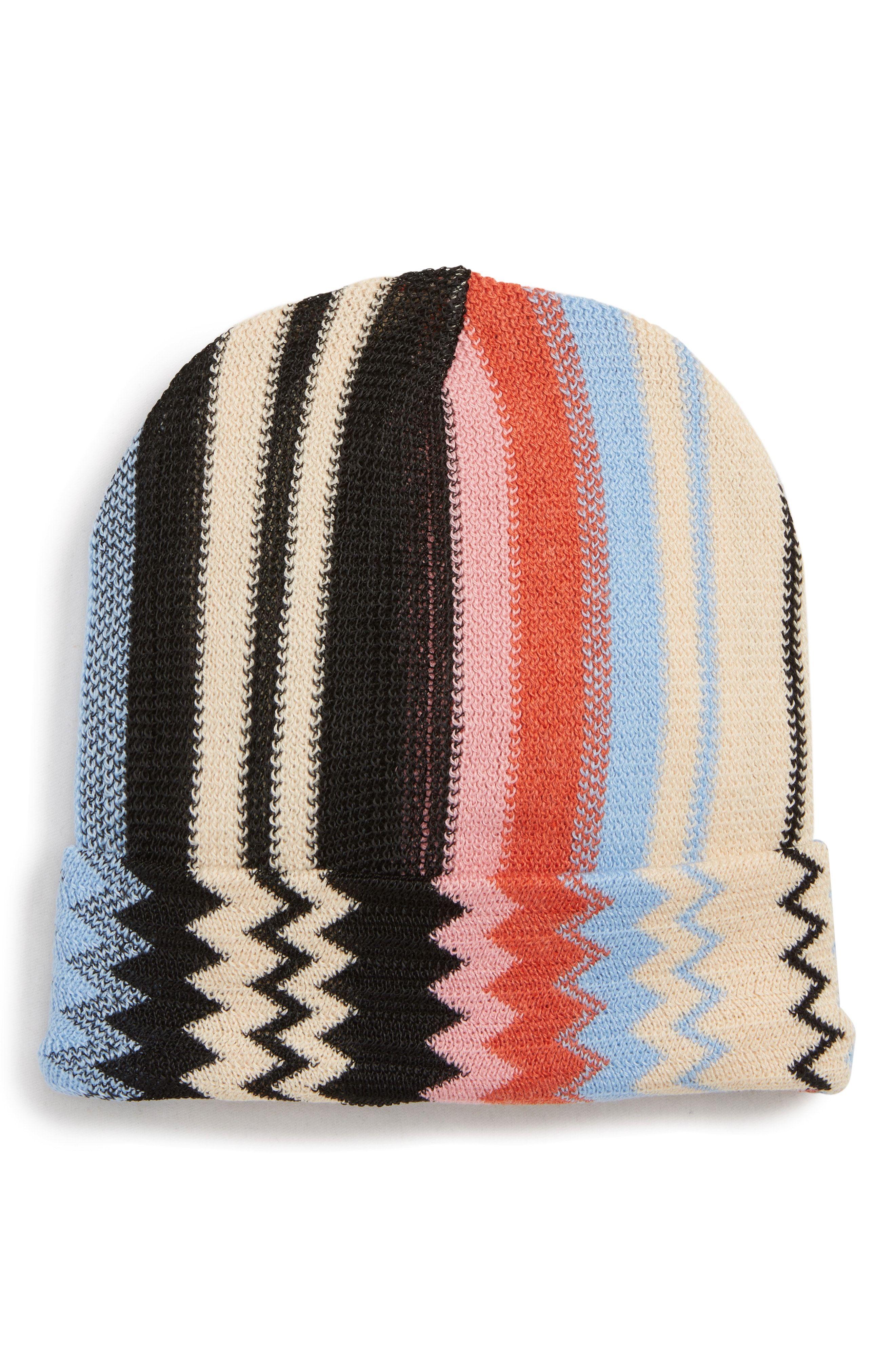 658da319c16d80 Missoni Stripe Beanie available at #Nordstrom   *Fun   Pinterest