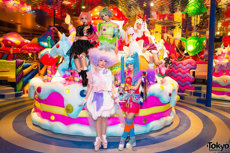 Kawaii Monster Cafe Iconic Cafe In Tokyo Japan Travel