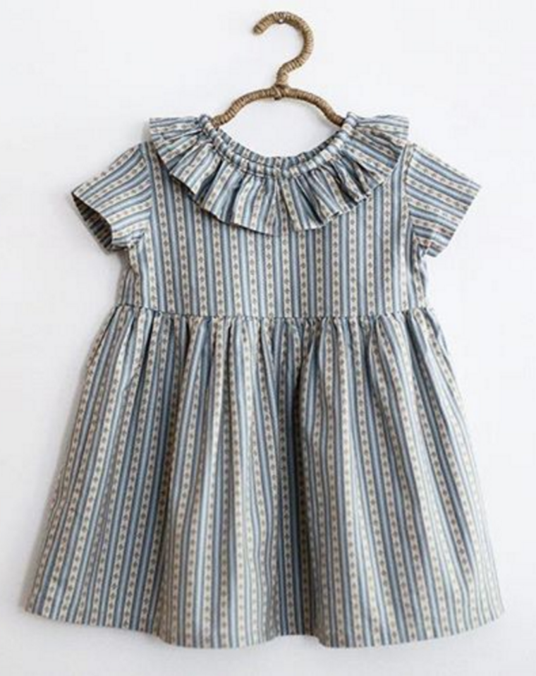 9a40c748b81bb Striped Tilly Dress by SweetHannahBDesigns on Etsy