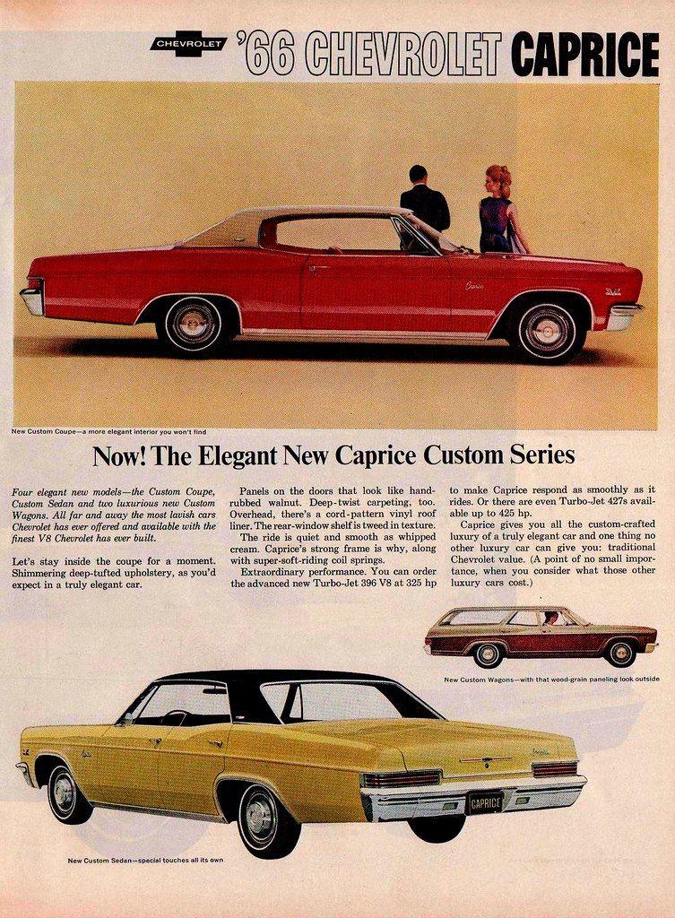 Chevrolet Caprice Ad Chevrolet Caprice Automobile Advertising Chevrolet