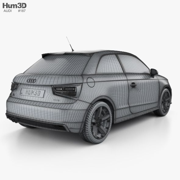 Audi A1 3-door With HQ Interior 2015