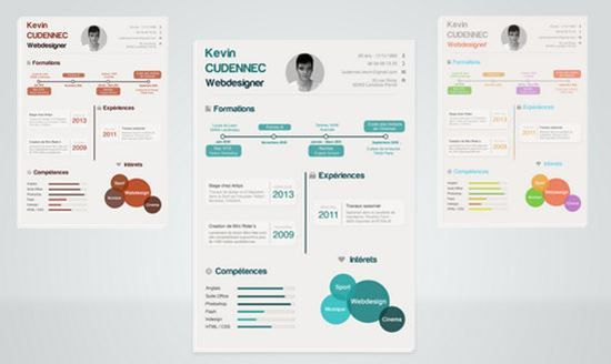 20 Creative Free Resumecv Templates To Download Pinterest