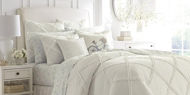 White Farmhouse Bedding 10 Ideas You Will Love
