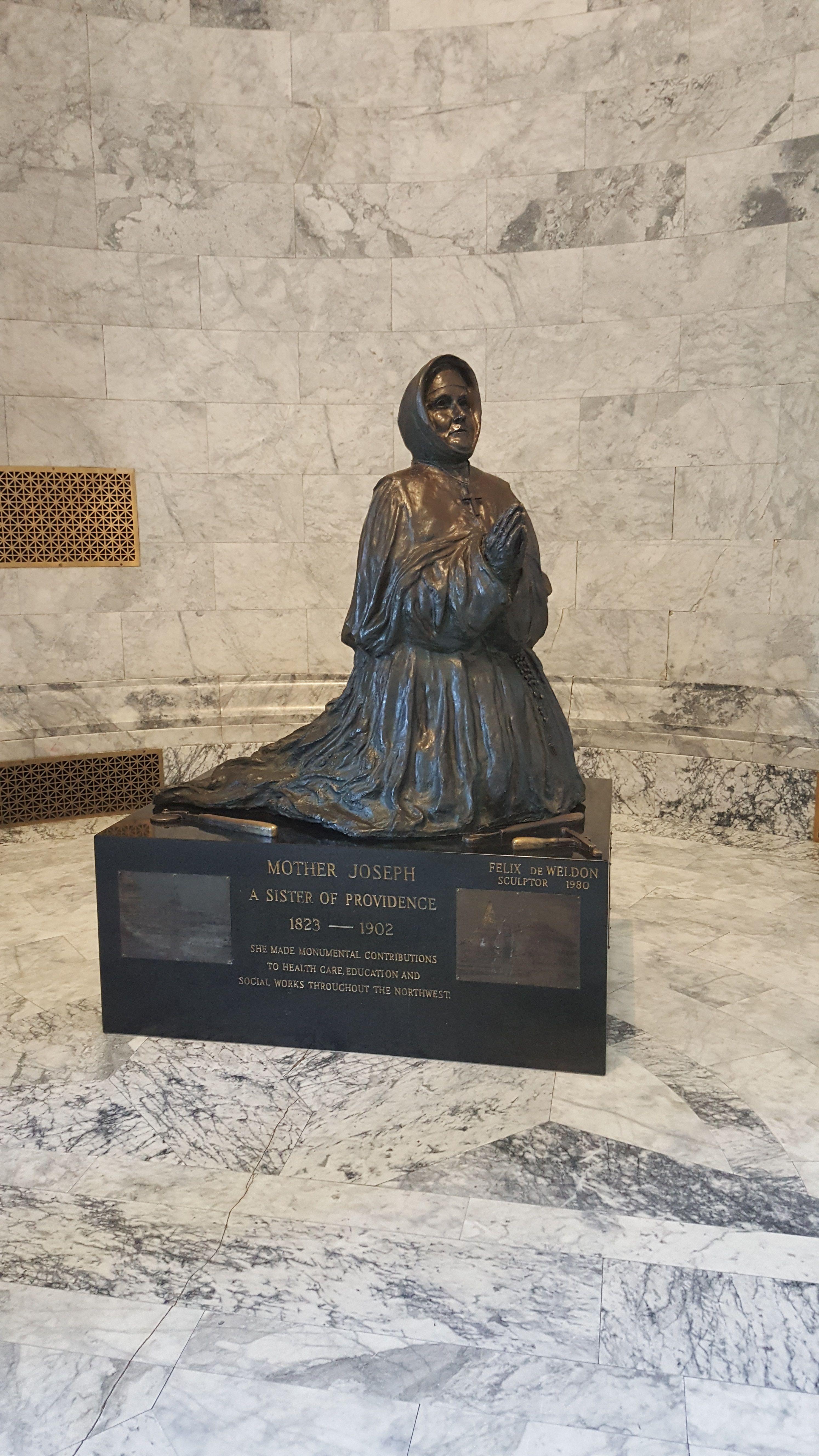 Mother Joseph Statue, Washington State Capitol